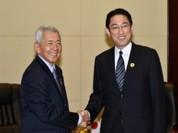Ngoại trưởng Nhật Bản sắp thăm Philippines củng cố thế trận liên thủ ở Biển Đông