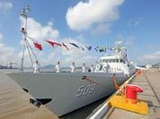 """Hạm đội Đông Hải Trung Quốc biên chế thêm 1 tàu hộ vệ """"kị binh nhẹ"""" trên biển"""