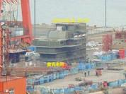Trung Quốc lộ hình ảnh ráo riết đóng tàu sân bay