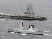 Tàu sân bay Nga đến Địa Trung Hải để phô diễn sức mạnh hải quân