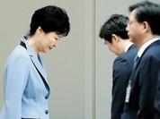 Bê bối quan hệ thân quen có thể phá hỏng tiền đồ chính trị của Tổng thống Hàn Quốc Park Geun-hye?