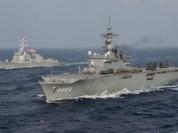 Mỹ không ngừng tập trận với các nước ở xung quanh Trung Quốc