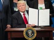 Tổng thống Trump cam kết với cử tri, lật đổ hình tượng nước Mỹ truyền thống trong chốc lát