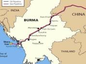 Trung Quốc tái khởi  động đường ống dẫn dầu ở Myanmar