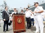 Kỳ hạm của Hạm đội Thái Bình Dương (Nga) thăm Philippines