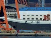Ngày mai, Trung Quốc hạ thủy tàu sân bay tự chế Type 001A ?