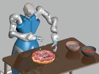 Dân châu Âu đổ hàng triệu euro chế tạo robot làm bánh pizza