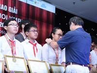 Gần 4.500 học sinh được vinh danh tại ViOlympic năm học 2016-2017