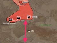 """Không quân Nga dội lửa, """"Hổ Syria"""" đánh chiếm 2 cứ địa IS ở Homs"""