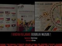 Hacker Indonesia deface 27 trang web của Malaysia sau sự cố quốc kỳ lộn ngược