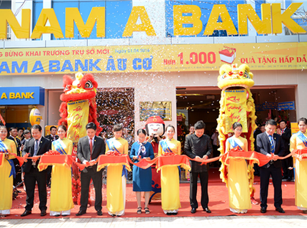   Nam A Bank: Tăng vốn lên 5.000 tỷ đồng, thay logo mới