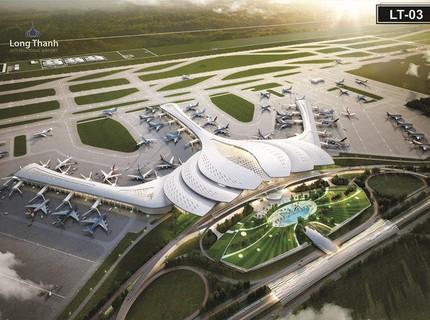 Nhà ga hành khách sân bay Quốc tế Long Thành sẽ có hình cánh sen