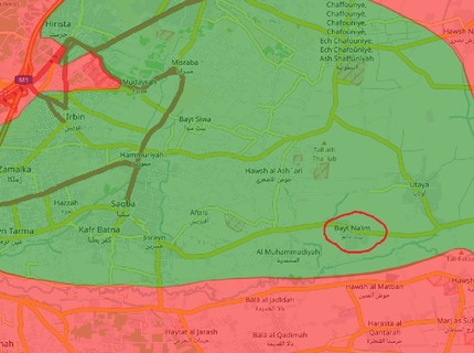 Chiến sự Syria: Quân Assad tấn công phe thánh chiến cố thủ ngoại vi Damascus