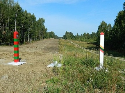 Clip: Litva xây hàng rào biên giới với Nga
