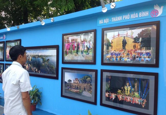 100 bức tranh, ảnh được trưng bày tại triển lãm.