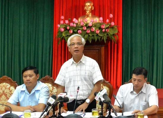 Ông Nguyễn Thế Toàn, Phó trưởng Ban Nội chính Thành ủy Hà Nội.