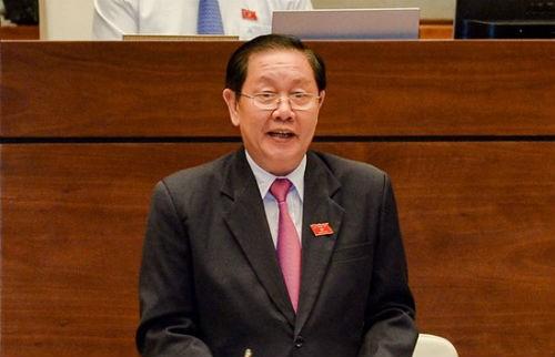 Bộ trưởng Bộ Nội vụ Lê Vĩnh Tân.