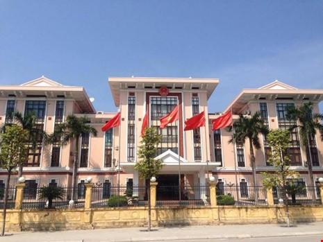 Trụ sở của HĐND, UBND TP Hạ Long