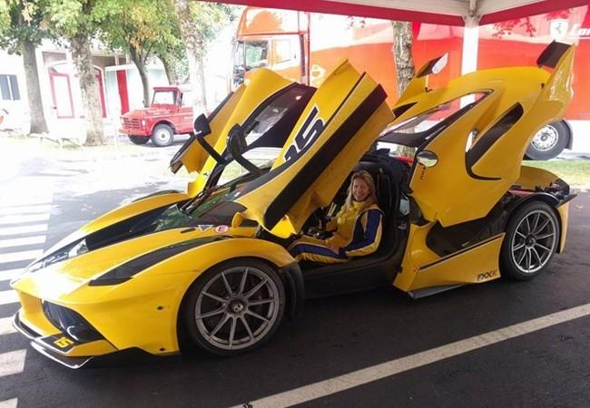 Ferrari FXX-K là món đồ mơ ước trong bộ sưu tập xe của các tỷ phú Ả Rập.