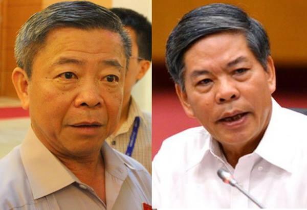 Hai ông Võ Kim Cự, Nguyễn Minh Quang