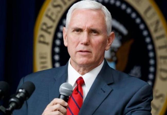 Phó Tổng thống Mỹ Mike Pence. Ảnh: VOA