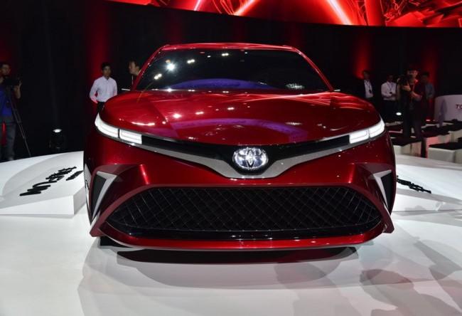 Toyota Fun có nhiều điểm tương đồng với Camry 2018 tại Mỹ