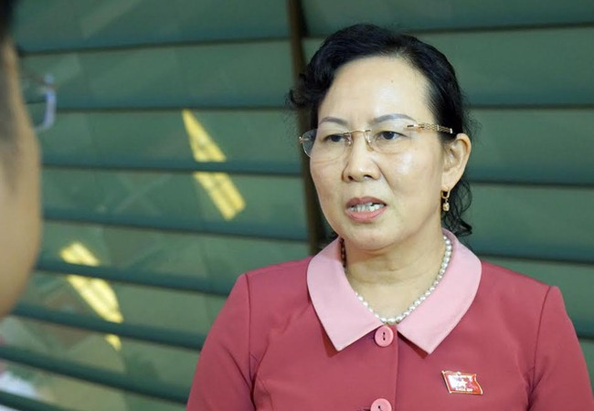 Bà Lê Thị Thủy, Phó Chủ nhiệm Ủy ban Kiểm tra Trung ương.