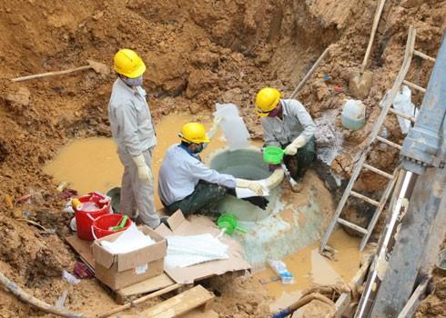 Đến nay đường ống nước sông Đà số 1 đã vỡ 21 lần. (Ảnh minh họa, nguồn internet).
