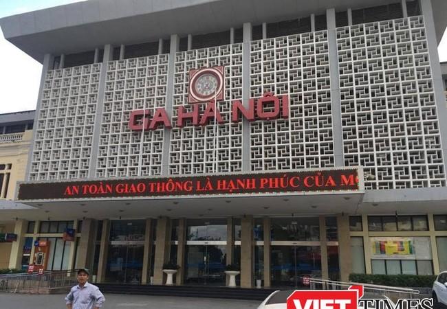 Ga Hà Nội có diện tích rộng, nằm trên khu vực phát triển kinh tế, xã hội, văn hóa bậc nhất Hà Nội.