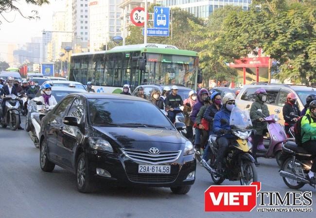 Hà Nội sẽ thí điểm BRT 01 sử dụng vé điện tử.