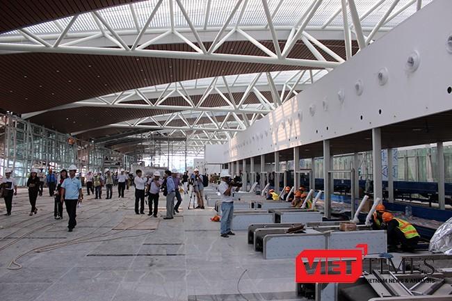 Nhà ga hành khách quốc tế sân bay Đà Nẵng sẽ cán đích vào 25/5/2017