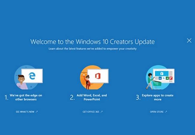 Những tính năng mới trên Windows 10 Creators Update