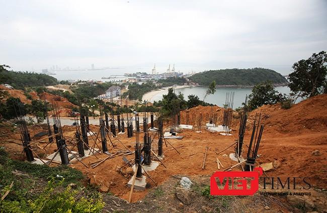 Dự án Khu du lịch nghỉ dưỡng Biển Tiên Sa trên bán đảo Sơn Trà gây bức xúc dư luận khi xây dựng băm nát rừng Sơn Trà