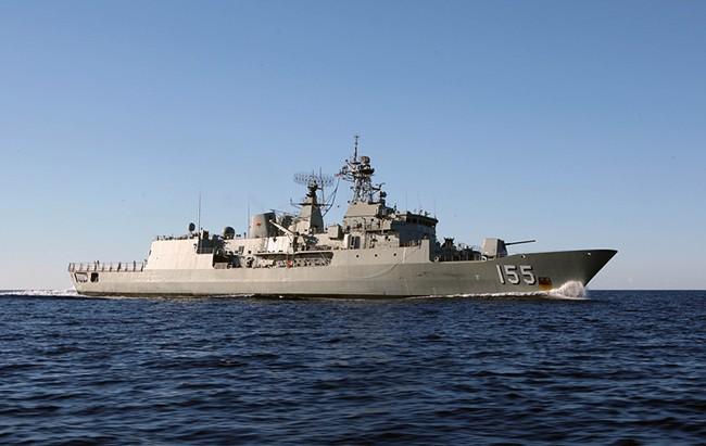Tàu Hải quân Hoàng gia Úc mang tên HMAS Ballarat sẽ đến thăm hữu nghị TP Đà Nẵng từ ngày 4/6-8/6/2017.