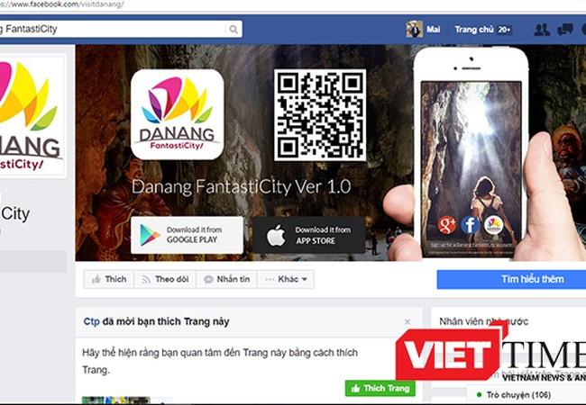 """Sở Du lịch TP Đà Nẵng vừa cho biết, ứng dụng """"Khám phá du lịch Đà Nẵng trên thiết bị di động""""-Danang FantastiCity đã được nâng cấp lên phiên bản Ver 2.0 để phục vụ du khách."""