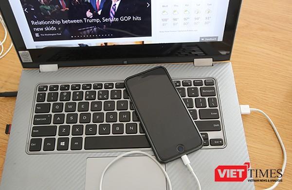Send Anywhere cho phép người dùng chuyển dữ liệu qua lại giữa smartphone và máy tính hoặc ngược lại mà không cần phải dùng đến cáp kết nối, giúp tiết kiệm thời gian hơn so với cách thông thường.