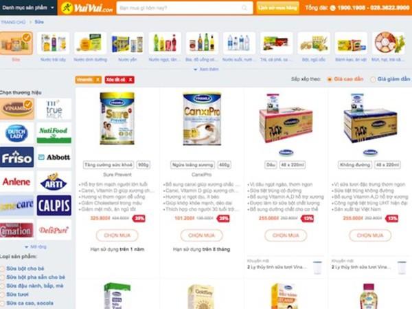 Vuivui của TGDĐ và Vinamilk cùng bắt tay mang đến nhiều lựa chọn mua hàng hơn cho người tiêu dùng từ tháng 8/2017.