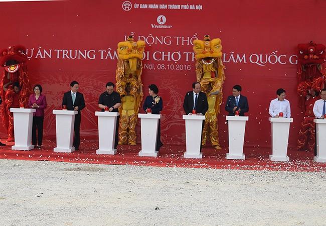 Dự án có diện tích quy hoạch trên 90ha với hơn 550.000m2 xây dựng trên địa bàn 3 xã Cổ Loa, Mai Lâm, Đông Hội thuộc huyện Đông Anh