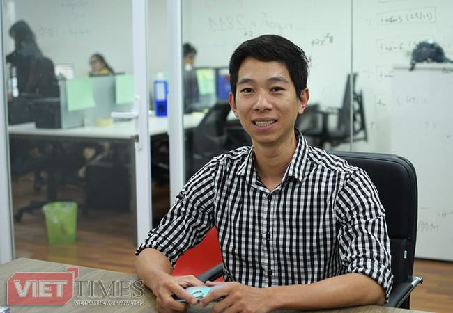 """Anh Lê Công Thành - Trưởng nhóm dự án """"Hệ thống phân tích ngữ nghĩa và quản trị tương tác mạng xã hội (SMCC)"""""""