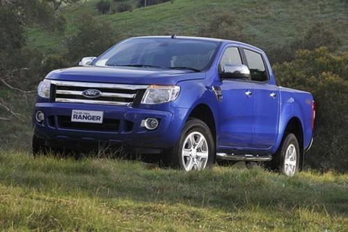 14.896 xe Ford Ranger được triệu hồi để khắc phục lỗi khóa lưng ghế sau