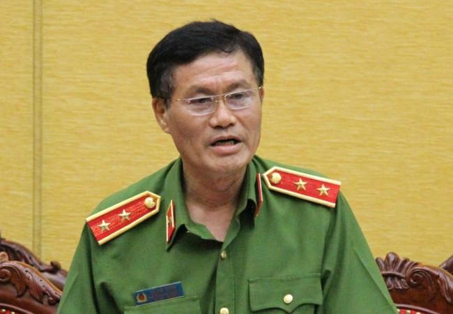 Trung tướng Đỗ Kim Tuyến - Phó Tổng cục trưởng Tổng cục Cảnh sát - Bộ Công an