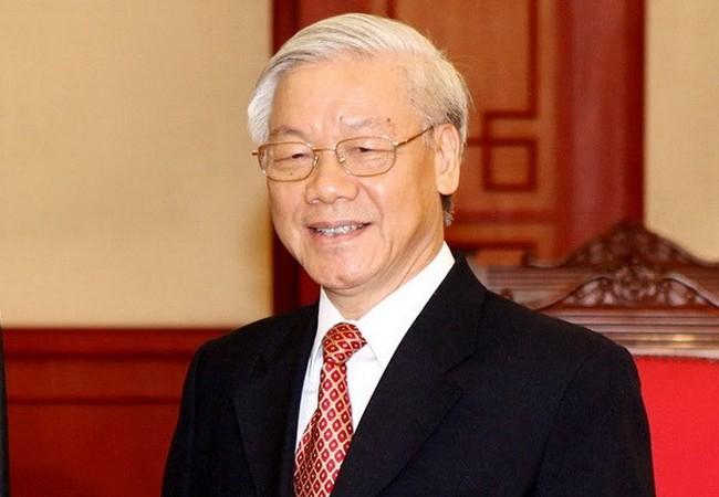 Tổng Bí thư Nguyễn Phú Trọng - Ảnh: Infonet
