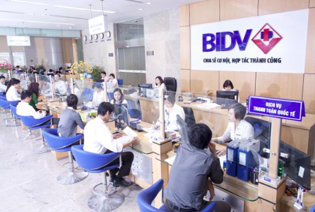 BIDV trả cổ tức năm 2016 bằng tiền mặt với tỷ lệ 7%