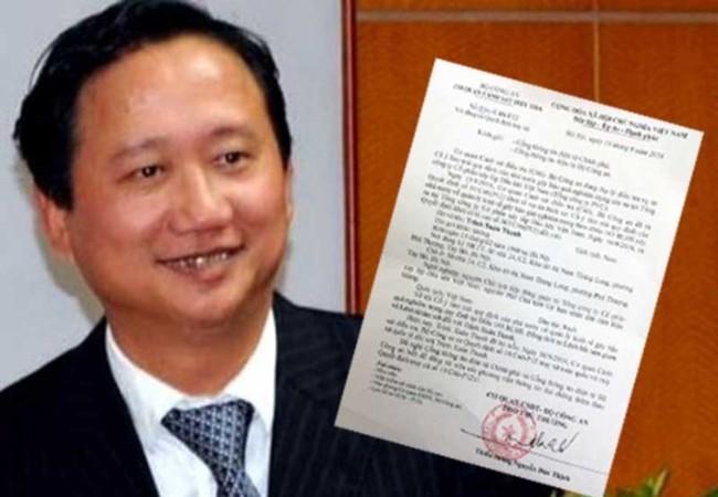 Các cơ quan tố tụng đã gia hạn thời gian tạm giữ hình sự đối với Trịnh Xuân Thanh để phục vụ điều tra