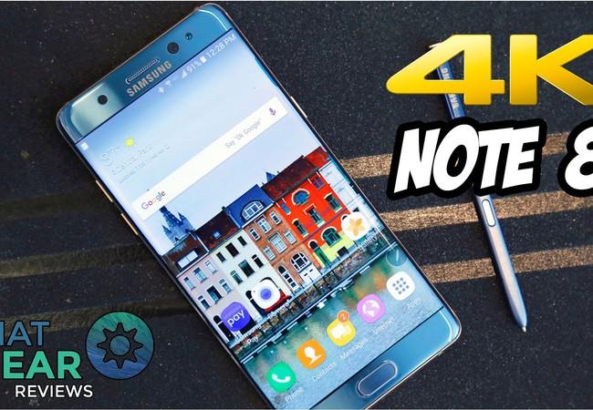 Samsung sẽ không từ bỏ dòng phablet Galaxy Note và sẽ ra Note 8 trong năm tới. Ảnh minh họa