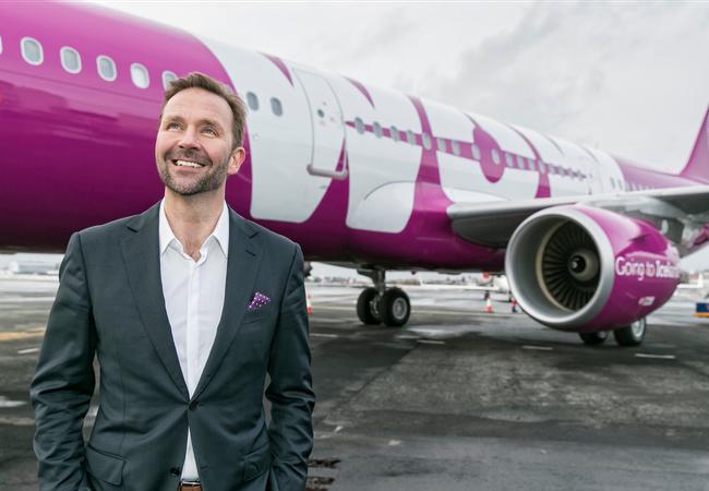 Nhà sáng lập kiêm CEO của hãng hàng không giá rẻ WOW Air