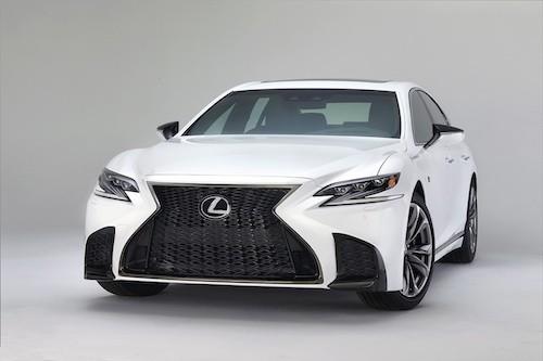 Lexus gia nhập cuộc đua sedan hạng sang tính năng cao với biến thể F Sport phát triển dựa trên LS 500 thế hệ mới.