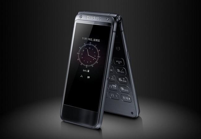 Samsung được cho là sắp ra  một mẫu smartphone nắp gập