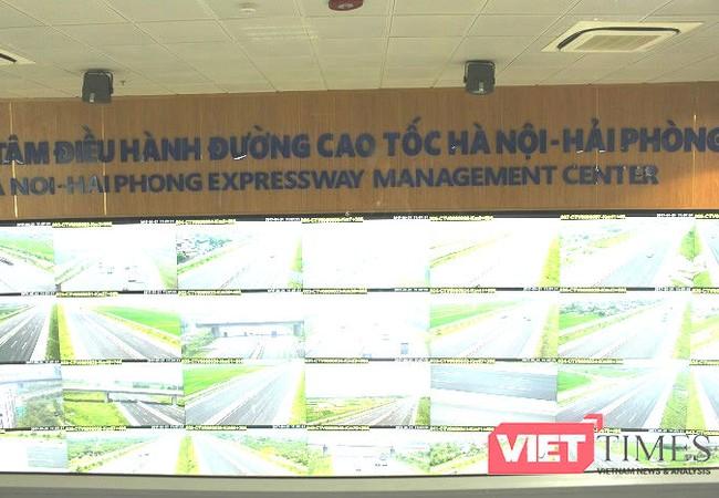 Hệ thống màn hình Wall Screen Map tại Trung tâm điều hành tuyến cao tốc Hà Nội – Hải Phòng