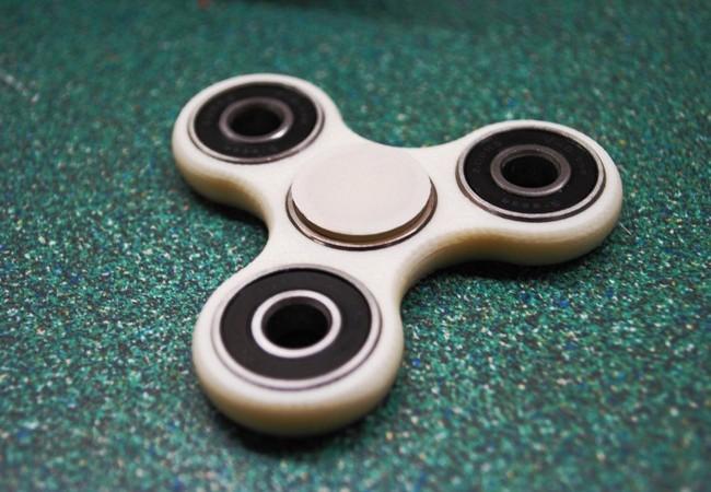Thiết kế của một chiếc fidget spinner. Ảnh Internet